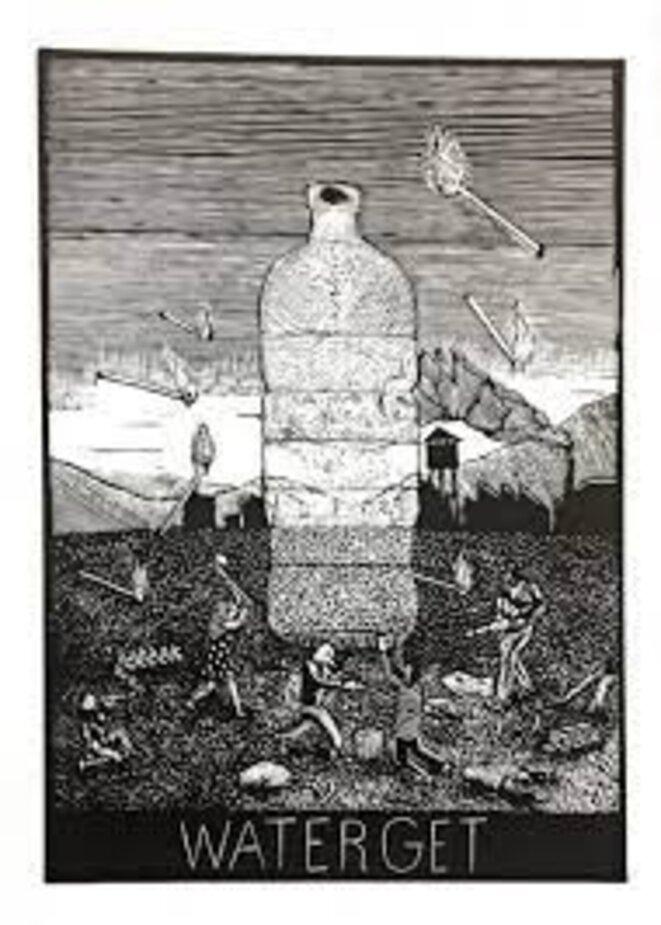 """Antonin Malchiodi, Water get (publié dans """"Mondes toxiques"""")"""