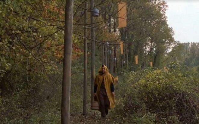 La lisière du bois, frontière de The Village © M. Night Shyamalan - Touchstone Pictures - Blinding Edge Pictures - Scott Rudin Productions - Buena Vista International