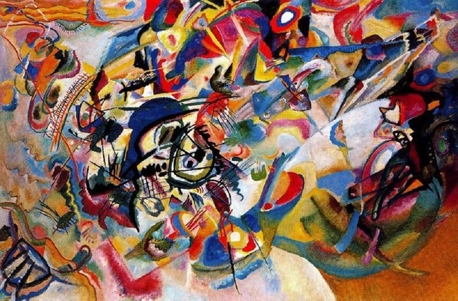 Composition VII (1913) © V. Kandinsky