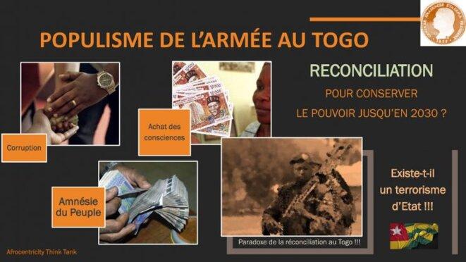 Togo Réconciliation : Populisme de l'armée au Togo