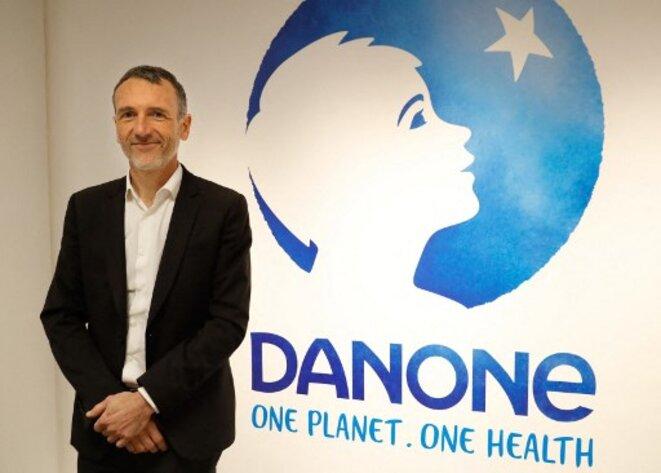 L'ex-PDG de Danone, Emmanuel Faber. © Patrick Kovarik / AFP
