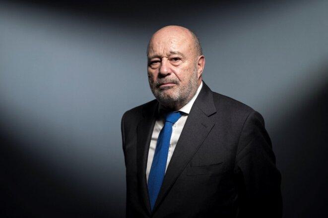 Jean-Michel Baylet, actuel maire PRG de Valence-d'Agen (Tarn-et-Garonne). © Lionel BONAVENTURE / AFP