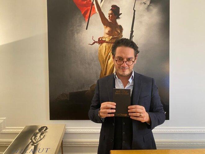 """L'avocat David Koubbi présente son livre """"La Charge"""" aux éditions La Relève & La Peste"""