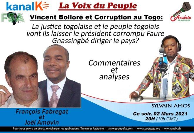 La voix du Peuple, Kanal K, Radio avulete
