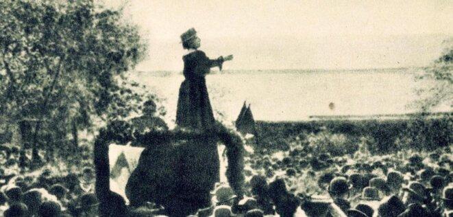 Rosa Luxemburg - Parler ...