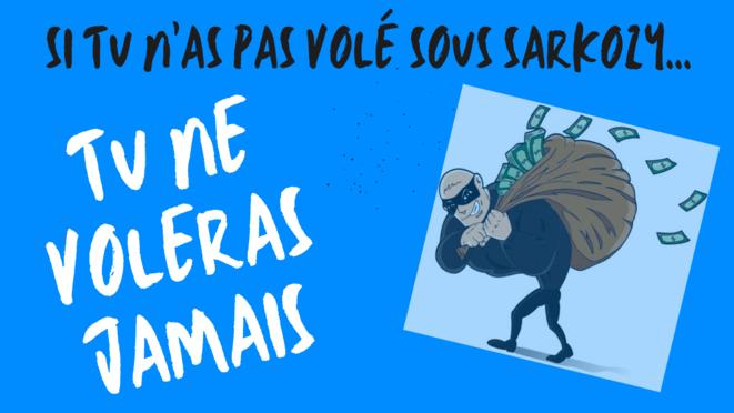 Si tu n'as pas volé sous Sarkozy © Yamine Boudemagh