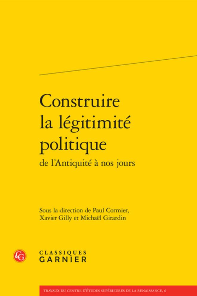 Construire la légitimité politique, 2021