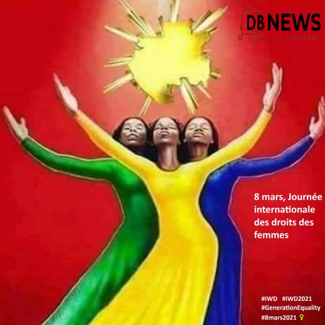 8 mars, Journée internationale des droits des femmes : les disparités persistent/2021© DBNEWS