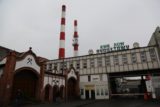 La mine KWK ROW, à Rydułtowy. © H. B.