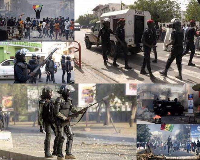 Violences politiques au Sénégal