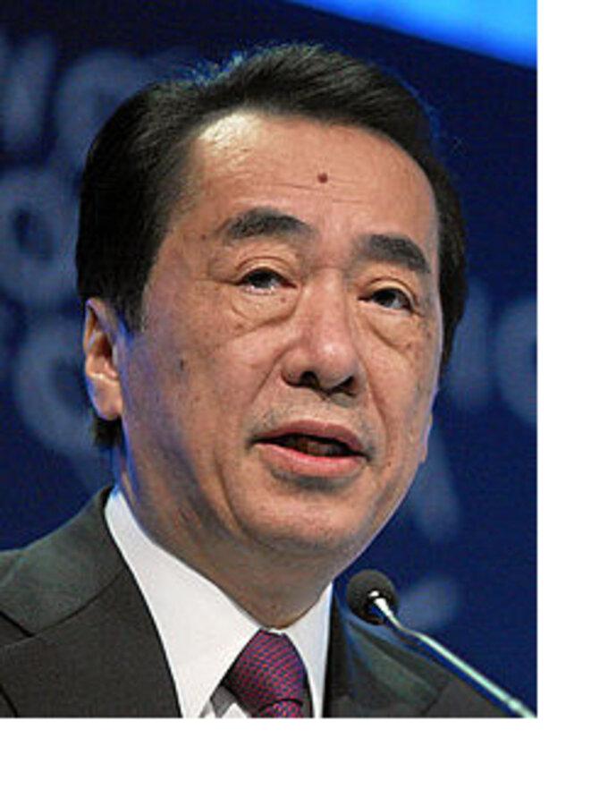 Naoto Kan, 1er ministre du Japon en 2011