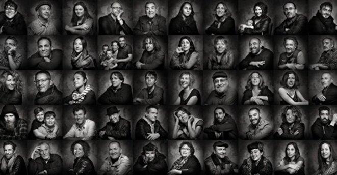 portraits du petit peuple du Marulaz © Patrice Forsans (Studio Marulaz), Besançon
