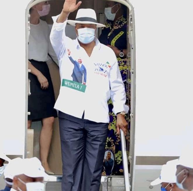 Lancement de la campagne présidentielle à Pointe Noire par Denis Sassou NGuesso