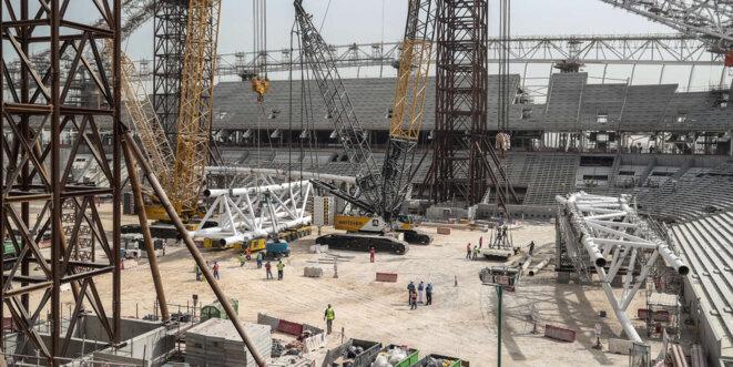 Les chantiers de la Coupe du Monde © Alban De Ferris
