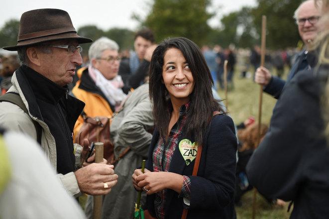 Karima Delli, députée européenne, ici en 2017, prend la tête d'une liste d'union de la gauche aux régionales dans les Hauts-de-France. © AFP