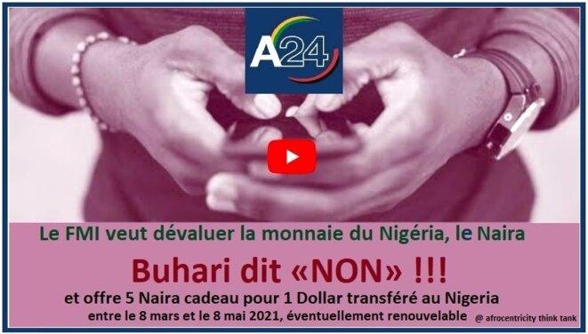 Nigeria, Le FMI veut dévaluer la monnaie du Nigeria le Naira, Buhari dit Non !