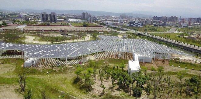 Le jardin de Philippe Rahm à Taichung (Taïwan)