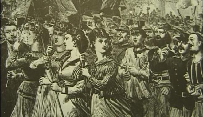 Extrait de « La Commune de Paris 1871 ». © Mehdi Lallaoui