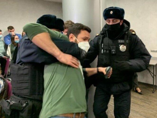 Arrestation de Yashin.ilya © facebook.com/yashin.ilya