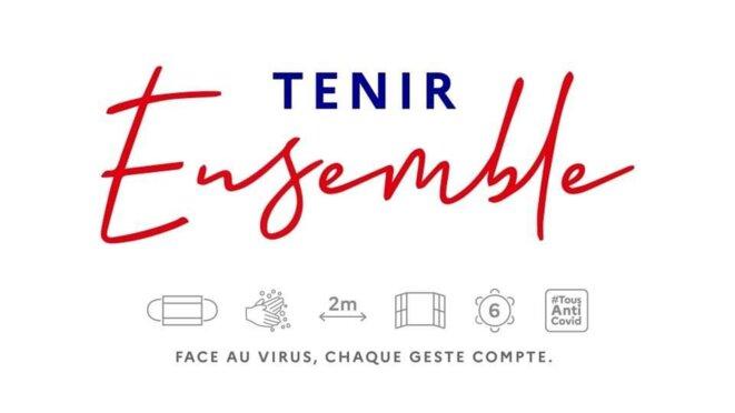 Joli slogan de propagande © Emmanuel Macron
