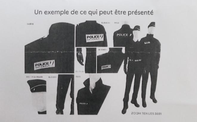«Un exemple, pour illustrer ce qui pourrait être fait.» © Extrait «cahier des charges»