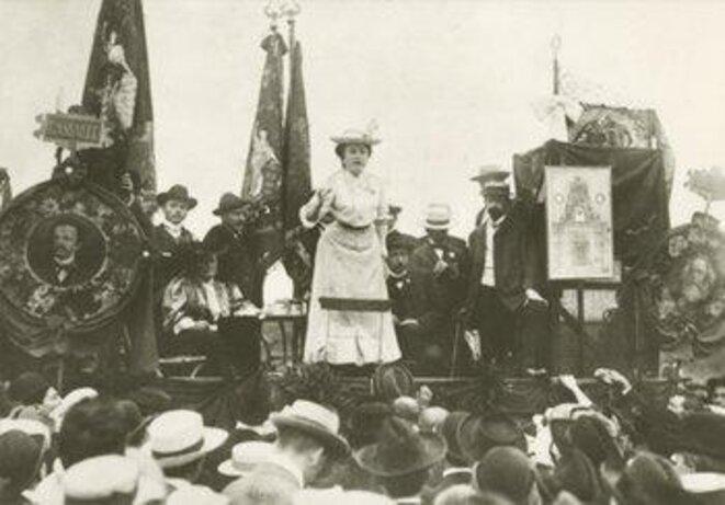 Rosa Luxemburg, Stuttgart 1907