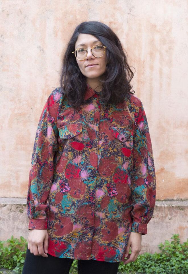 Ana Isabel Bustamante © Laura MORSH-KIHN assistée de Raquel GONZALEZ LOPEZ