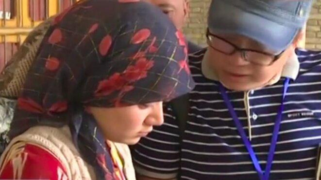 Buzaynap, 19 ans, est apparue dans un rapport des médias d'État de 2017 sur le transfert de main-d'œuvre