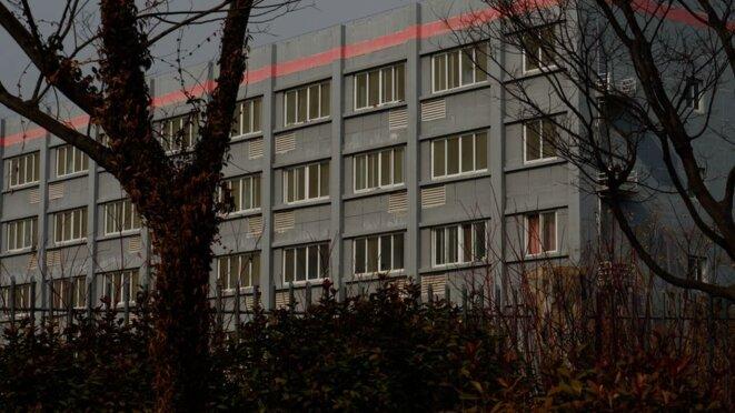 Un dortoir de la Huafu Textile Company, où Buzaynep a été emmené travailler