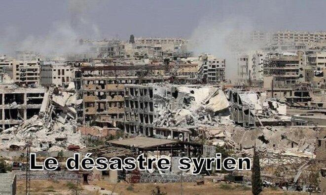 La Syrie en guerre © Alban De Ferris