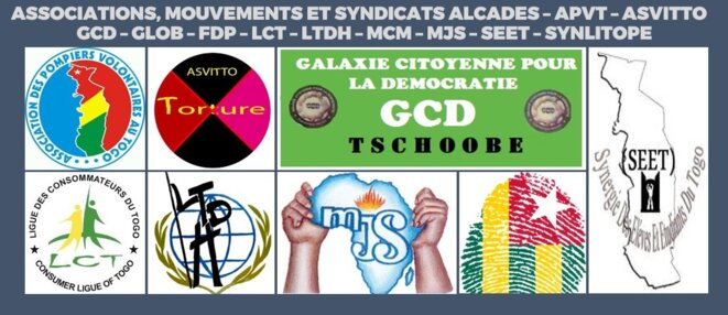 Associations, Mouvements et syndicats, ALCADES – APVT – ASVITTO – GCD – GLOB – FDP – LCT – LTDH – MCM – MJS – SEET – SYNLITOPE © Associations, Mouvements et syndicats, ALCADES – APVT – ASVITTO – GCD – GLOB – FDP – LCT – LTDH – MCM – MJS – SEET – SYNLITOPE