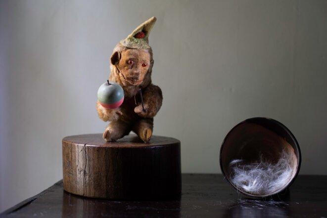 Jeffrey Silverthorne, A bowling of hair, 2020 © Jeffrey Silverthorne