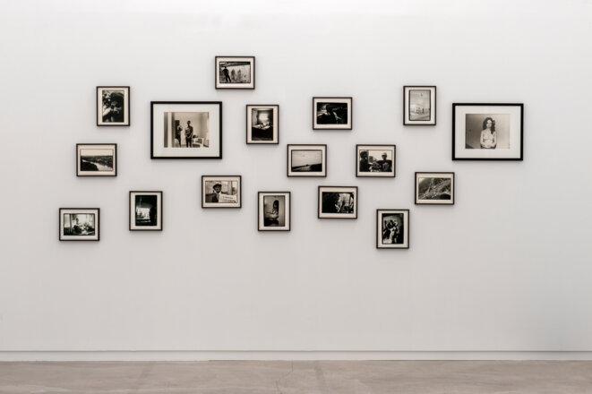 Vue de Pleasures, Sadness, Sometimes, exposition personnelle de Jeffrey Silverthorne_Lahah, Paris, 2021 © Photo Marc Domage pour L'ahah