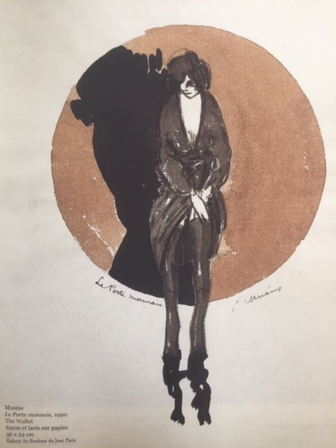 'Le Porte monnaie' - Musine © 'Maisons Closes' - galerie Au Bonheur du Jour