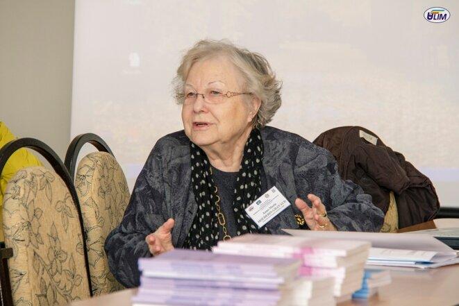 Anne-Marie Houdebine en 2016
