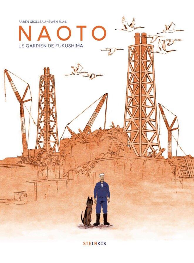 """Couverture de l'album """"Naoto, le gardien de Fukushima"""", de Fabien Grolleau et Ewen Blain, Steinkis éditions."""