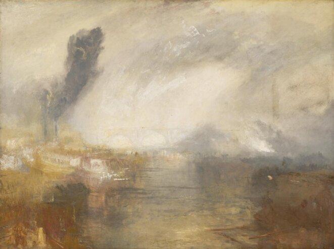 "J. M. W. Turner, ""The Thames above Waterloo Bridge"", c. 1830. © Tate Gallery"