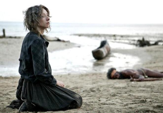 """Sylvie Testud, dans le film de Solveig Anspach """"Louise Michel, la rebelle"""""""