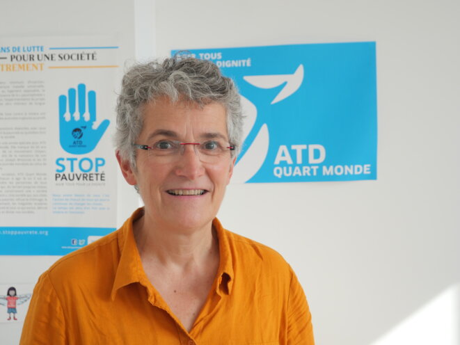 Marie-Aleth Grard. © ATD Quart Monde
