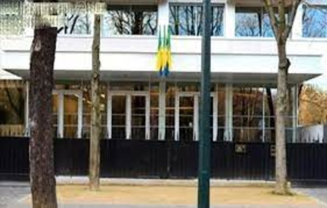 16e arrondissement, Ambassade du Gabon à Paris