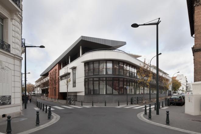 L'Institut départemental Gustave-Baguer dans les Hauts-de-Seine. © Epicuria architectes.
