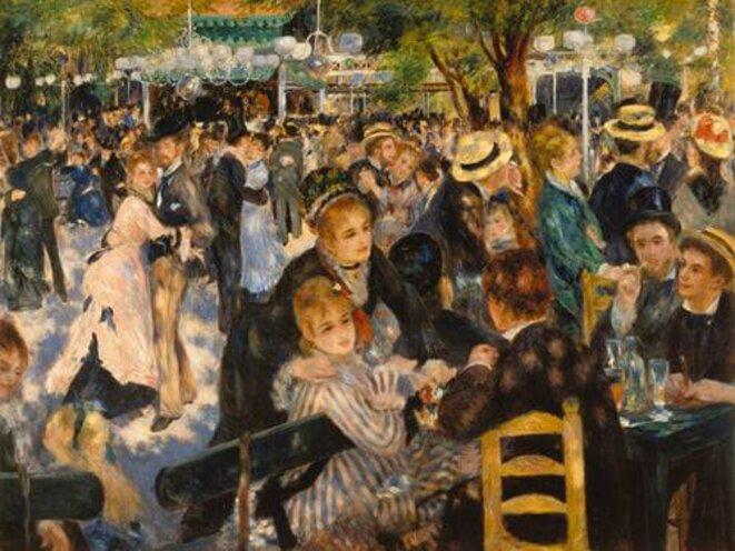 Renoir, Bal du Moulin de la Galette (1876)