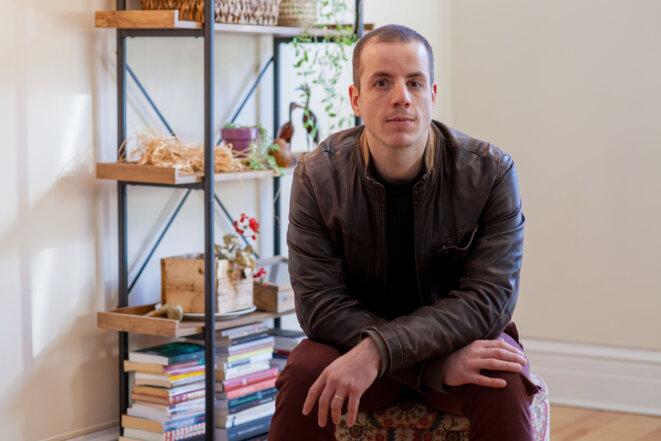 Matthieu Delaunay, journaliste et auteur.