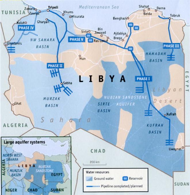 Libye - La Grande Rivière Artificielle (2000) © orwelltoday.com