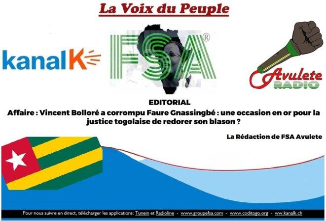 Togo : Bolloré – Gnassingbé une occasion en or pour redorer le blason de la justice