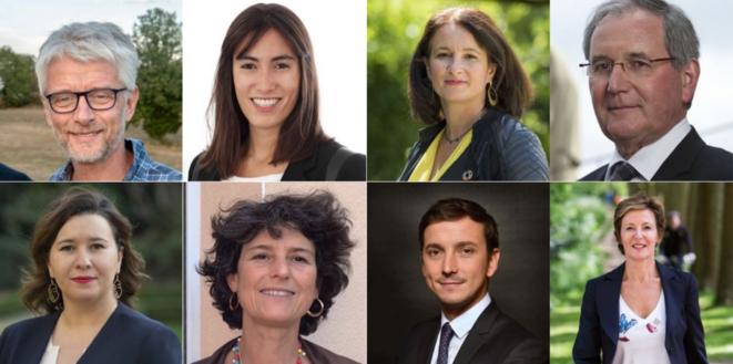 Some of the 30 MPs who have quit Emmanuel Macron's ruling La République en Marche party. © DR