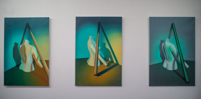 "Diane Benoît du Rey, série ""En rotation"", 2017"
