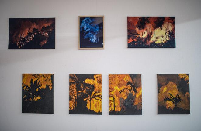 Bruno Gadenne, série des Valkyries, 2017