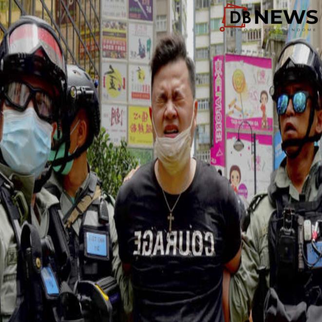 Hong-Kong, manifestant pro-démocratie