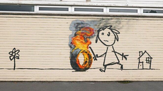 École Banksy à Bristol, 2016 © Banksy